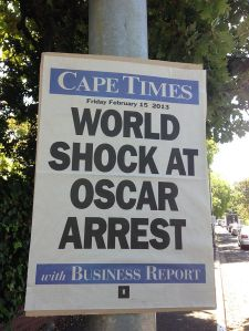 Cape_Times_newspaper_poster_dated_15_February_2013_about_the_arrest_of_Oscar_Pistorius