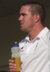 Pietersen_at_The_Oval by Paddy Briggs