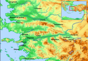 Colosse Map