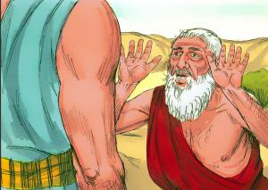 Abraham Pleads for Sodom FBi