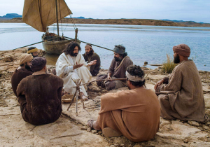 Jesus on the shore FBi